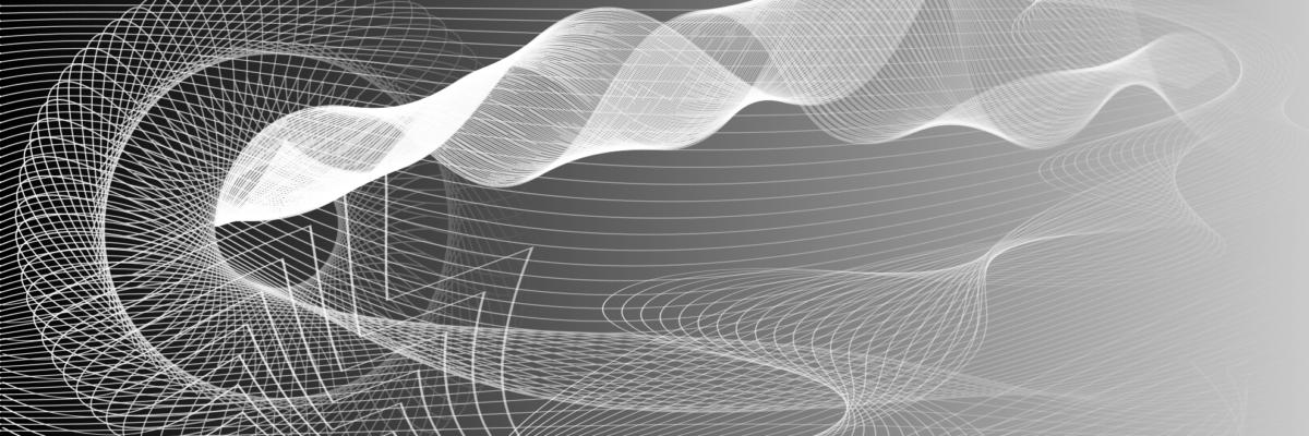 Una gráfica en blanco y negro, que representa múltiples dimensiones.